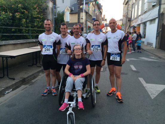 Course à pied matériel handicapé