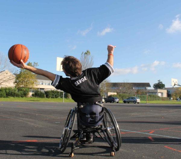 Basket handicapés