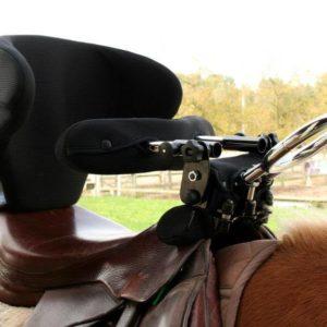 Siodło jeździeckie dla niepełnosprawnych urządzeń