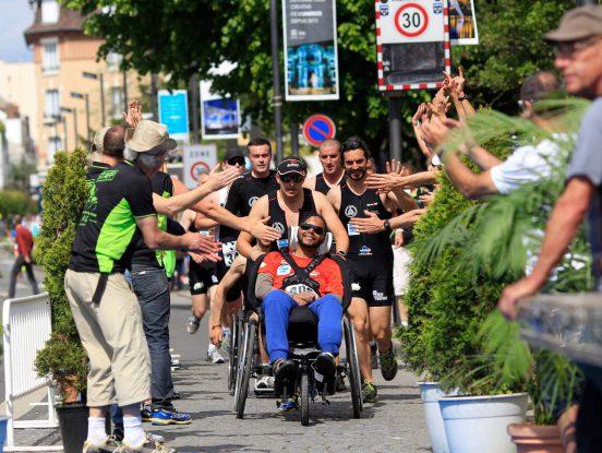 Handicapé en course à pied