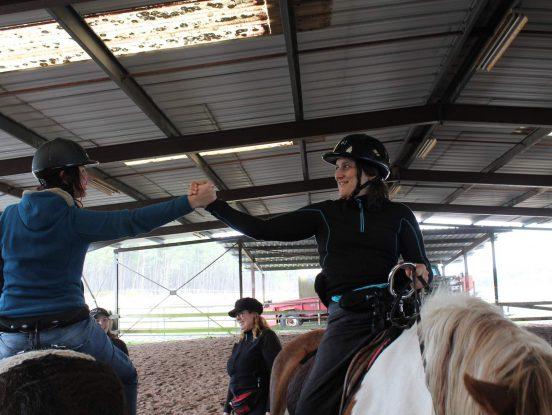 Handicapés en cheval