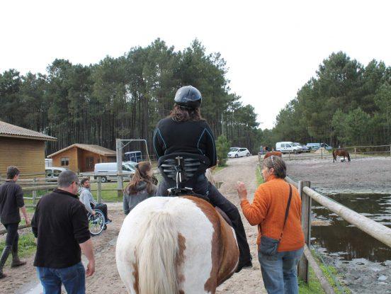 Selle handicap de cheval