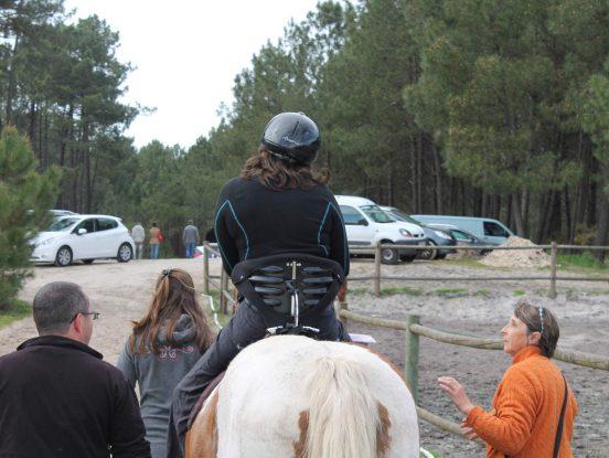 Balade sur chevaux