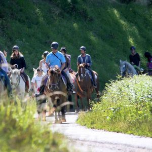 Balade à cheval avec équipements Mouvly